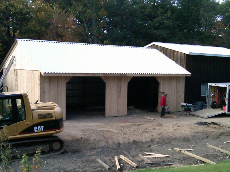 Barn Construction